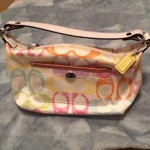 Coach small pastel purse